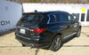"Draw-Tite Max-Frame Trailer Hitch Receiver - Custom Fit - Class III - 2"" 6000 lbs GTW 76031 on 2018 Infiniti QX60"