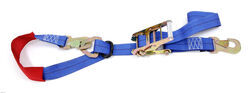"Car Tie-Down with Built-in Axle Strap, 2"" x 8' - 5K with Ratchet"