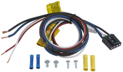 pigtail wiring harness for tekonsha and draw tite brake controllers rh etrailer com tekonsha wiring harness for 2011 chevy tahoe tekonsha wiring harness for 2011 chevy tahoe
