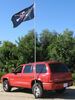 GameDay Tailgating Drive-Up Flag Pole Base with Bumper Protector and Carry Case 79553