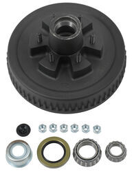 Trailer Hub Assembly - 5,200-lb and 6,000-lb Axles - 6 on 5-1/2 - E-Z Lube