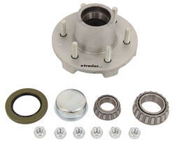 Dexter Trailer Idler Hub Assembly for 6,000-lb Axles - 6 on 5-1/2 - Galvanized - 8-213-51UC1