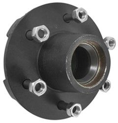 Trailer Hub Assembly - 5,200-lb and 6000-lb Axles - 6 on 5-1/2 - E-Z Lube