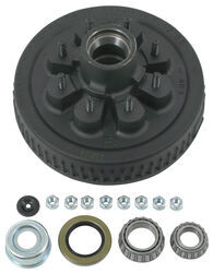 Trailer Hub and Drum Assembly - 5,200-lb to 7,000-lb Axles - 8 on 6-1/2 - E-Z Lube