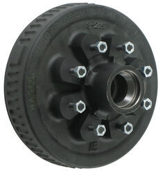 "Trailer Hub and Drum Assembly - 5,200-lb to 7,000-lb Axles - 8 on 6-1/2 - 1/2"" Studs"