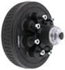 dexter axle trailer hubs and drums hub with integrated drum 8 on 6-1/2 inch assembly - 5 200-lb to 7 000-lb axles oil bath