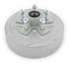 "Dexter Trailer Hub and Drum Assembly - 3,500-lb E-Z Lube Axles - 10"" - 5 on 4-1/2 - Galvanized"