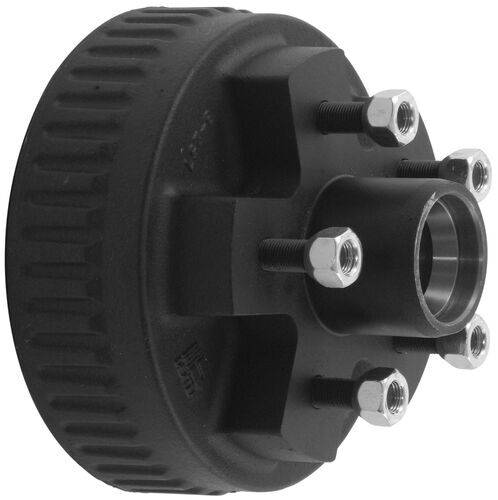 Electric Hub Caps : Trailer hub and drum assembly for electric brakes