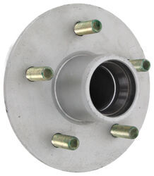 "Trailer Hub Assembly - 2,200-lb E-Z Lube Axle - 5 on 4-1/2 - 13"" - 15"" Wheels - Galvanized - 8-258-50UC1-EZ"