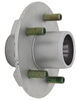 "Trailer Hub Assembly - 2,200-lb E-Z Lube Axle - 5 on 4-1/2 - 13"" - 15"" Wheels - Galvanized L44649 8-258-50UC1-EZ"
