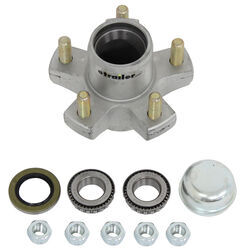 "Trailer Hub Assembly for 2,000-lb Axles - 5 on 4-1/2 - 8"" - 12"" Wheels - Galvanized"