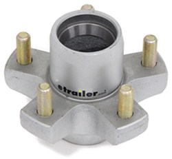 "Trailer Hub for 2,000-lb and 2,200-lb Axles - 5 on 4-1/2 - 8"" - 12"" Wheels - Galvanized"