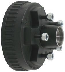 Trailer Hub and Drum Assembly for Hydraulic Brakes - 2,000-lb Axles - 5 on 4-1/2 - E-Z Lube