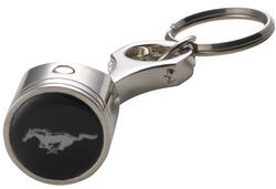 Ford Mustang Piston Key Chain with Chrome Plating
