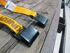 0  ratchet straps kinedyne trailer truck bed flat hooks tie-down strap w/ - 2 inch x 27' 3 300 lbs