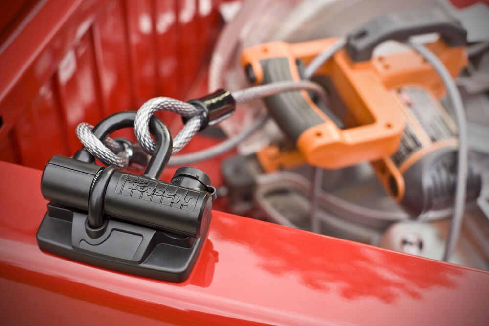master lock truck bed security u lock master lock vehicle locks 8287dat. Black Bedroom Furniture Sets. Home Design Ideas