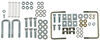 Fold Down Gooseneck Trailer Hitch with Installation Kit - GM Heavy Duty Trucks 6250 lbs TW 8339-4434