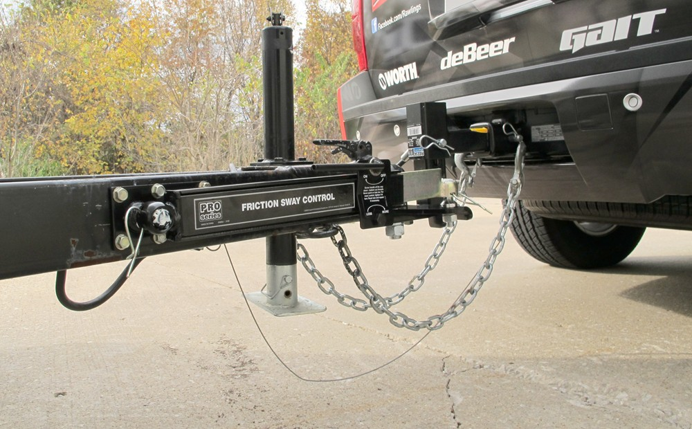 Travel Trailer Towing Stabilizer : Pro series friction sway control kit economy by draw