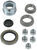 dexter axle trailer hubs and drums hub with integrated drum 5 on 4-1/2 inch assembly for 3 500-lb e-z lube axles - 10 diameter