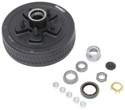"Dexter Trailer Hub and Drum Assembly for 3,500-lb E-Z Lube Axles - 10"" Diameter - 5 on 4-1/2"