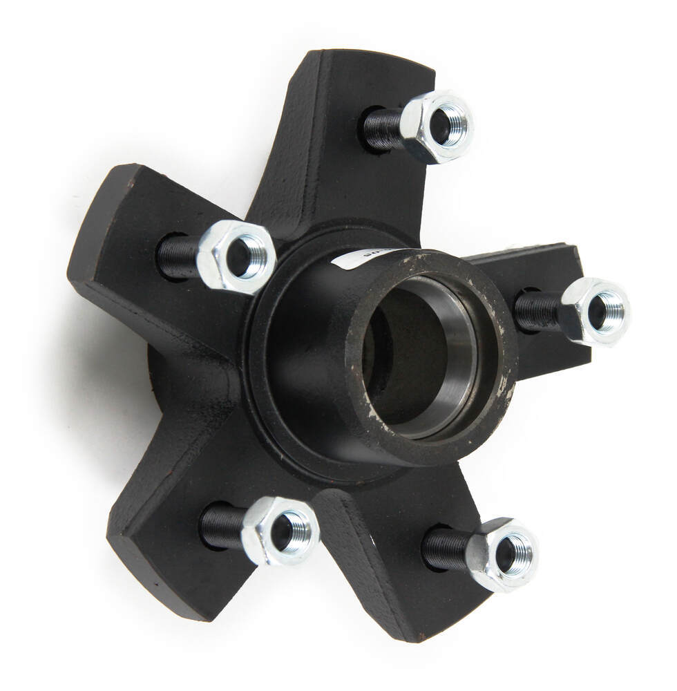 Trailer Hubs And Spindles : Dexter trailer idler hub assembly for lb axles