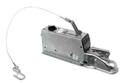 "Demco Hydraulic Trailer Brake Actuator - Drum Brakes - Zinc Plated - 2"" Ball - 6,000 lbs"
