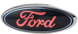 Ford LED Lighted Vehicle Emblem - Chrome