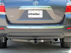 Hidden Hitch 2011 Toyota Highlander Trailer Hitch