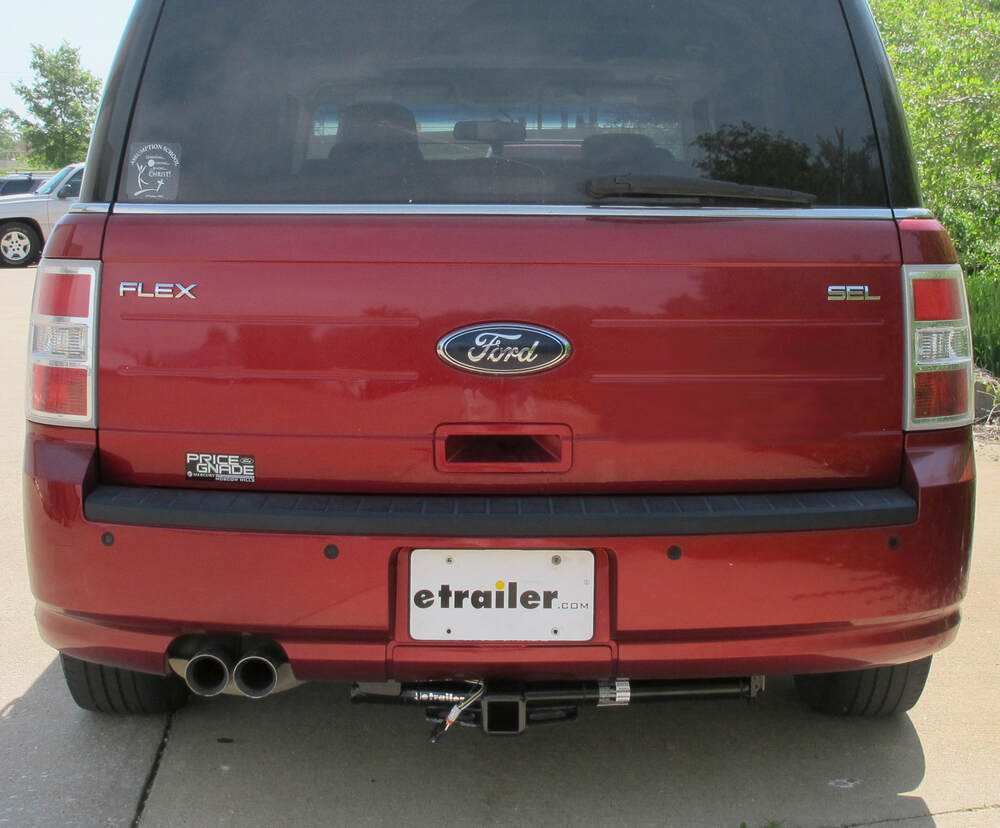 Compare Vs Draw Tite Max Frame 2010 Ford Flex Wiring Diagram 87571 Visible Cross Tube Hidden Hitch Trailer On 2009