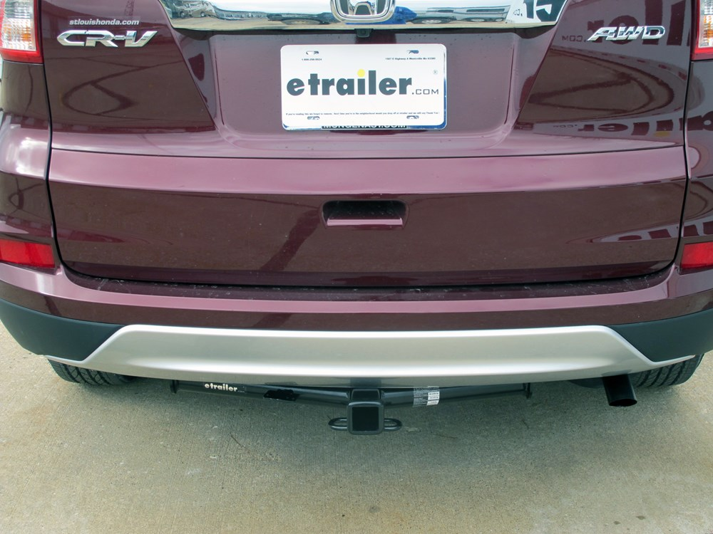 Installation Of A Trailer Hitch On A 2012 Honda Cr V