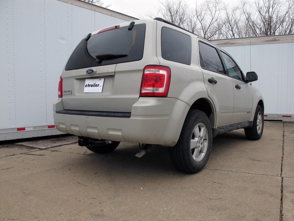2009 ford escape hidden hitch trailer hitch receiver custom fit class iii 2. Black Bedroom Furniture Sets. Home Design Ideas