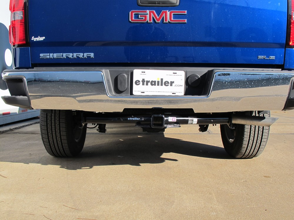 2014 gmc sierra 1500 trailer hitch hidden hitch. Black Bedroom Furniture Sets. Home Design Ideas