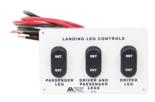 replacement electric control panel for atwood 5th wheel landing next