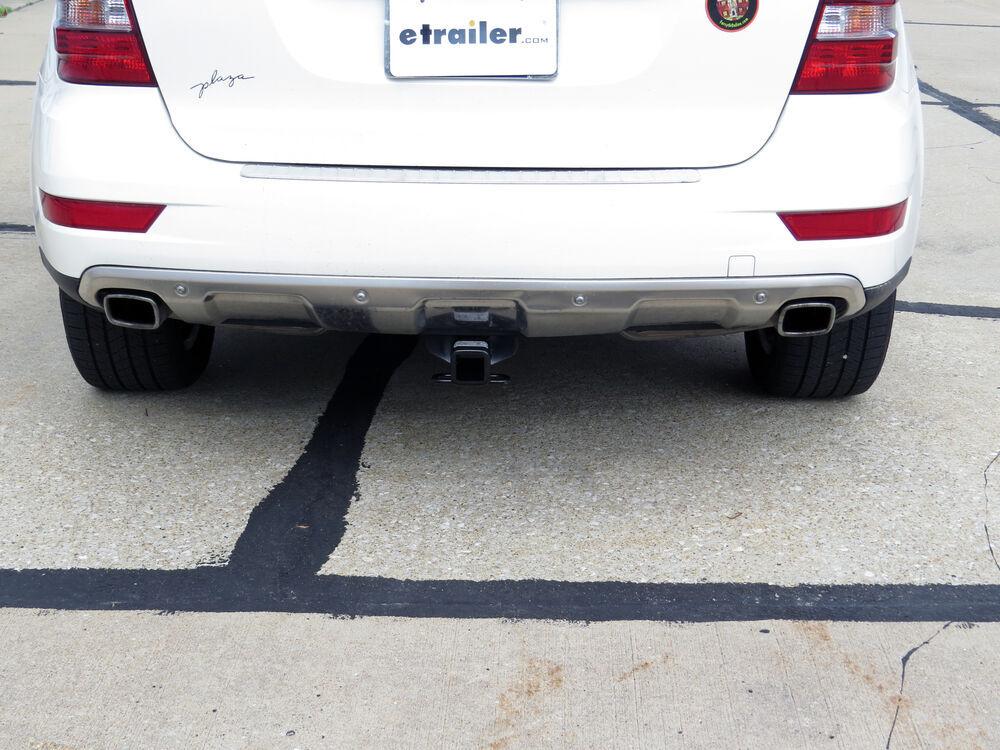 2010 mercedes benz m class trailer hitch hidden hitch for Mercedes benz trailer hitch