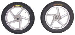 Replacement Wheels for Yakima Rack and Roll Trailer - Qty 2