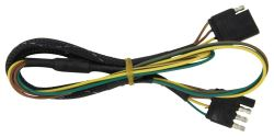 Replacement 4-Way Flat Wiring Harness for Yakima Rack and Roll Tongue Extension Kit