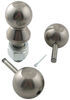 "Convert-A-Ball Interchangeable Ball Set - 3 Balls - 1"" Shank - Nickel 1 Inch Diameter Shank 900B"