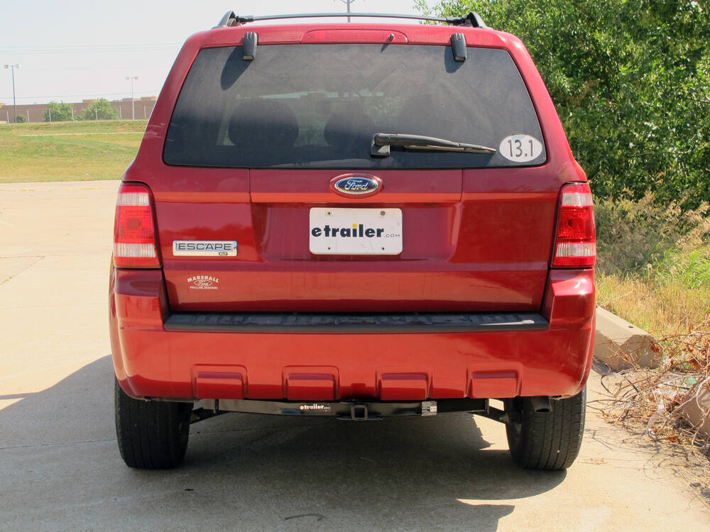 2009 ford escape hidden hitch trailer hitch receiver with drawbar custom fit class ii 1 1 4. Black Bedroom Furniture Sets. Home Design Ideas
