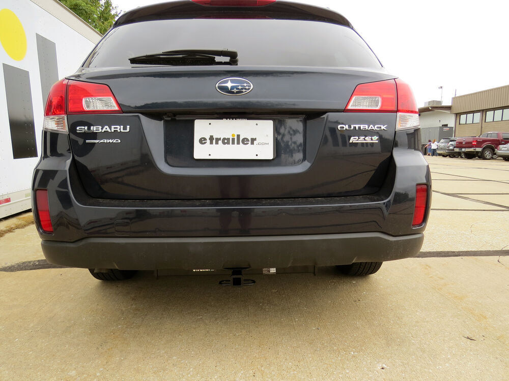 2013 Subaru Outback Wagon Trailer Hitch Hidden Hitch