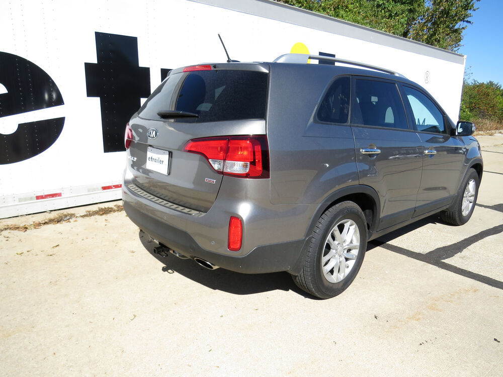 2014 kia sorento trailer hitch hidden hitch. Black Bedroom Furniture Sets. Home Design Ideas