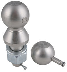 "Convert-A-Ball Interchangeable Ball Set - 1-7/8"" and 2"" Balls - 1"" Shank - Stainless"