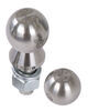"Convert-A-Ball Interchangeable Ball Set - 1-7/8"" and 2"" Balls - 1"" Shank - Stainless Stainless Steel 903B"