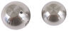 "Convert-A-Ball Interchangeable Ball Set - 2"" and 2-5/16"" Balls - 1"" Shank - Stainless 2 Inch Diameter Ball,2-5/16 Inch Diameter Ball 90"