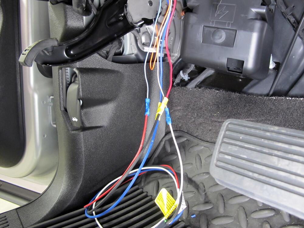 2012 Chevrolet Silverado Tekonsha Prodigy P2 Trailer Brake