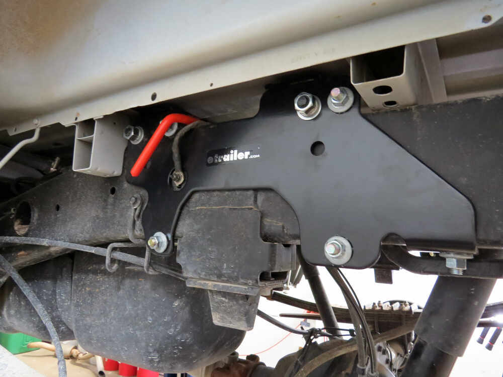 2011 Ram 2500 Hide-A-Goose Underbed Gooseneck Trailer Hitch with Custom Installation Kit ...