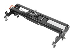 Hide-A-Goose Underbed Gooseneck Trailer Hitch with Custom Installation Kit - 30,000 lbs
