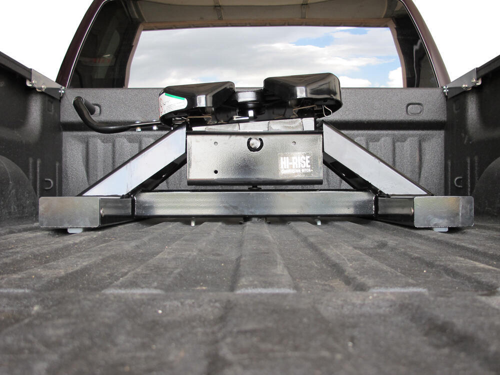 Fifth Wheel Trailer Hitch : Ford f and super duty hi rise gooseneck to