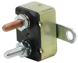 In-Line Circuit Breaker - 20 Amp - Perpendicular Mount Bracket