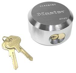 Master Lock Hidden Shackle Padlock