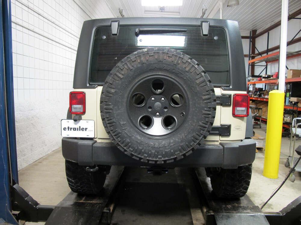 2011 jeep wrangler curt trailer hitch receiver custom. Black Bedroom Furniture Sets. Home Design Ideas